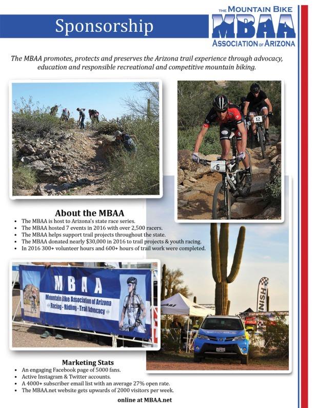 MBAA 2017 Sponsorship