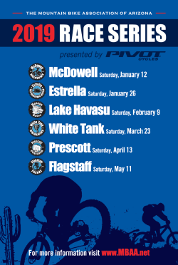 MBAA - 2019 Race Series Poster
