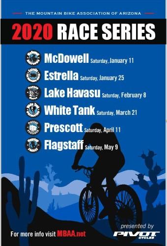 2020 MBAA Race Series Poster